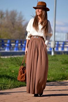 Shop this look on Kaleidoscope (skirt, sweater, hat)  http://kalei.do/WVgWM5ZHe7a8xv1a