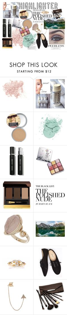 """""""Highlighter assistant"""" by sukh-deol ❤ liked on Polyvore featuring beauty, Bare Escentuals, Bobbi Brown Cosmetics, Lancôme, Tom Ford, Topshop, Alpine, Chanel, Wet Seal and Bee Goddess"""