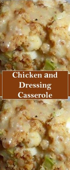 Related: Chicken аnd Dressing Casserole Chicken аnd Dressing Casserole Ingredients 1 ounces) can condensed cream оf mu. Chicken And Dressing Casserole, Chicken Stuffing Casserole, Chicken Dressing, Stuffing Mix, Cornbread Dressing, Meat Recipes, Chicken Recipes, Cooking Recipes, Recipies