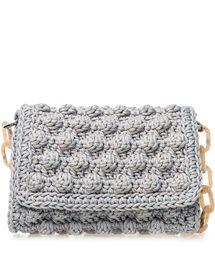 ONE & ONLY Ciel Bubble Crochet Bag < NEW