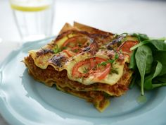 Vegetarisk lasagne med vegofärs | Recept från Köket.se