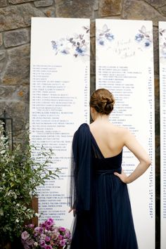 Escort Card Display | Austin Texas Wedding at Ma Maison | Planning, Design, Florals, and Paper Goods by The Nouveau Romantics | Photography by Belathée