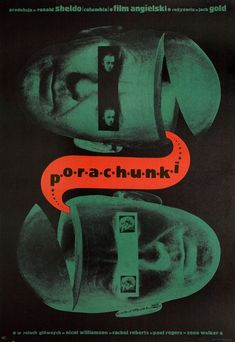 The Reckoning 1969 Polish A1 Poster