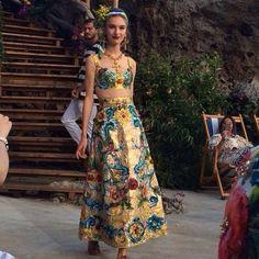 Dolce&Gabbana на острове Капри