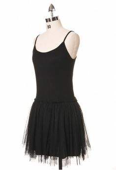 tulle ballet dress (just needs a ripped band t shirt/tights/docs AMIRITE)