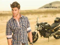 As camisas de Enrico Rossi para o verão