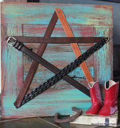 This is so so cute! Such a great item for decor! Love the western look! Beyond The Picket Fence