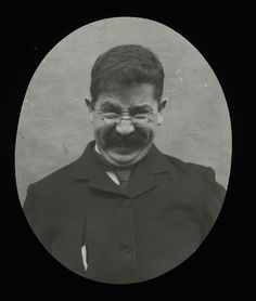 Victorians Pulling Faces (Northumberland Archives)