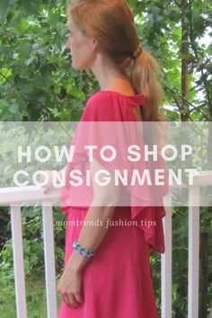 How to Shop Consignm