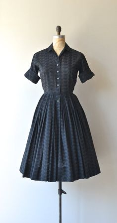 Best Company dress vintage 1950s dress black by DearGolden Vintage Outfits 5c5ce8743128a