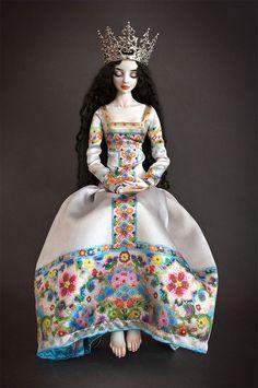 Porcelain dolls by Marina Bychkova 3 Beautiful Dolls by Marina Bychkova   Porcelain Beauties