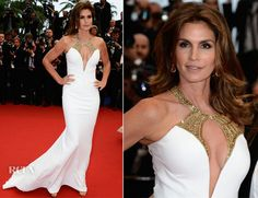 Cindy Crawford In Roberto Cavalli