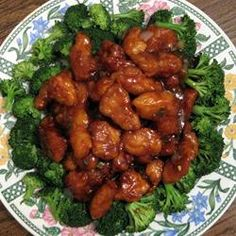 General Tao Chicken Recipe - subbed in more soy sauce for oyster sauce, ground ginger for grated ginger root, and no green onions Tso Chicken, Chicken Recipes, Hamburger Recipes, Chicken Meals, Turkey Recipes, General Tao Chicken, Poulet General Tao, Empanadas, Food Cakes