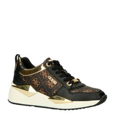 Wedge Sneakers, Shoes Sneakers, All About Shoes, Guess Shoes, Top Shoes, Shoe Brands, Louis Vuitton, Wedges, Model