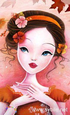 17 Best images about illustrations Illustrations, Beauty Art, Whimsical Art, Cute Illustration, Portrait Art, Face Art, Asian Art, Diy Art, Art Pictures