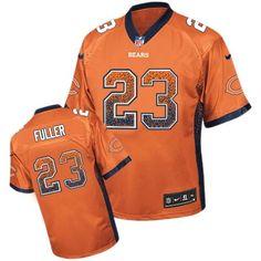 ceeb49a62 Nike Elite Kyle Fuller Orange Men s Jersey - Chicago Bears  23 NFL Drift  Fashion Terrell