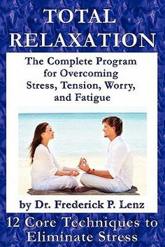 Dr. Lenz, one of the foremost experts on stress and relaxation, devises a twofold approach to stress control based upon a series of 12 relaxation techniques consisting of specific thought and image patterns.  http://find.minlib.net/iii/encore/record/C__Rb2938936