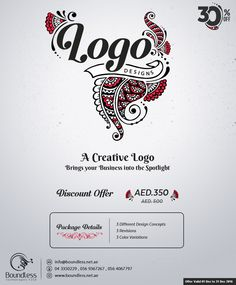 Get an Eye-Catching and stunning custom Logo Design for your Business OR Website etc. We are Team of professional graphics designers and we are Providing High-Quality Logo Design Service. What will you get from us? 3 Different Design Concepts 3 Revisions 3 Color Variations  All these just in 350 AED instead of 500 AED  #logodesign #customlogo #businesslogo #corporatelogo #logooffer #arabiclogo #design #graphic #winteroffer #Dubai #sharjah #abudhabi
