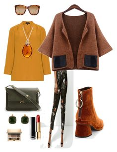 """Something for my soul #8"" by tanya-shkolar on Polyvore featuring мода, River Island, Marni, Be-Jewelled, Les Néréides, Clarins, Chanel и Linda Farrow"