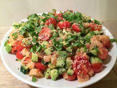 Pasta Salad, Cobb Salad, Ceviche, Ethnic Recipes, Food, Crab Pasta Salad, Essen, Meals, Yemek