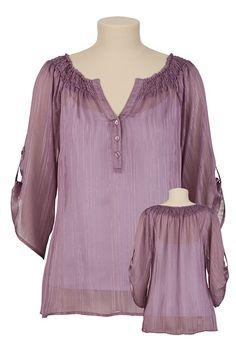 love loose fitting tunics