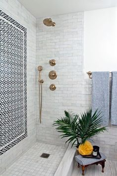 When you need to remodel or makeover your bathroom interior, you can start from the tiles. A bathroom is the best room to get beautiful and awesome tiles on its floor and also its wall. Bathroom Renos, Bathroom Interior, Master Bathroom, Bathroom Ideas, Modern Bathroom, White Bathroom, Bathroom Designs, Maroccan Bathroom, Bathroom Bin