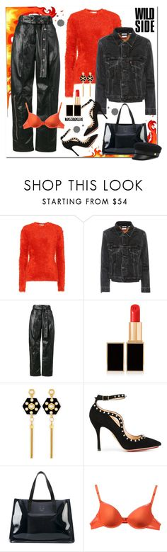 """Ouch!! 🔥"" by jacque-reid ❤ liked on Polyvore featuring Marni, Vetements, Proenza Schouler, Tom Ford, Henri Bendel, Charlotte Olympia and Dsquared2"