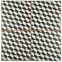 SomerTile 17.75x17.75-inch Royals Espiga Ceramic Floor and Wall Tile (Case of 5)