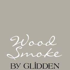 glidden wood smoke - Google Search