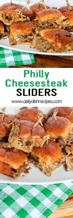 Philly Cheese Steak Sliders