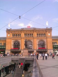 The old train station in Hannover, Germany