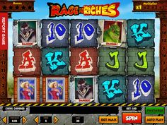 Spielen absolut kostenlos Automat Rage to Riches - http://freeslots77.com/de/rage-to-riches/