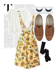 """""""Sunflower"""" by moytura ❤ liked on Polyvore"""