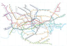 London Tubemap - A new angle on the London Underground