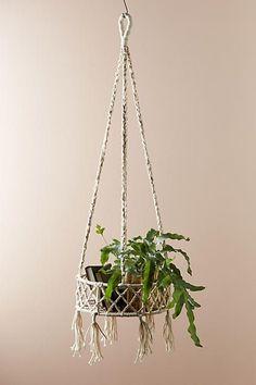 make this macrame hanger