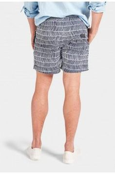 The Academy Brand Alonso Boardy Cotton blend elastic waistband with drawstring stripe design twin hip pockets single back pocket tailored for a regular fit