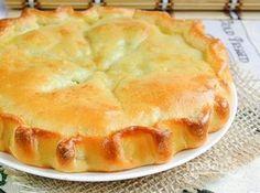 Пирог со скумбрией из обалденного теста