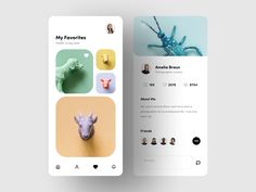 Photography by Martyna Zielińska for Hiwow on Dribbble Mobile App Ui, Web Inspiration, Screen Design, Silver Spring, App Design, Creative, Projects, Photography, Screens