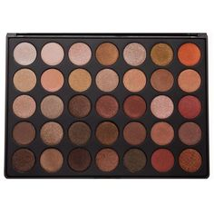 35OS 35 COLOR SHIMMER NATURE GLOW EYESHADOW PALETTE Morphe (€20) ❤ liked on Polyvore featuring beauty products, makeup, eye makeup, eyeshadow, morphe eyeshadow and palette eyeshadow
