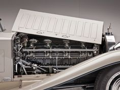"""crazyforcars: """" Massive Bugatti Royale engine, on display at The Henry Ford """" Bugatti Royale, Henry Ford Museum, Buy Tickets Online, Michigan Travel, Car Photos, Cool Cars, Innovation, Classic Cars, Automobile"""