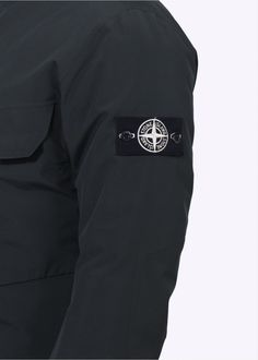 Stone Island Tank Shield Jacket - Petrol