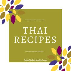 Thai Recipes Category Paint the Kitchen Red