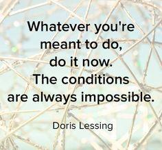 Inspriing Doris Lessing Quotes