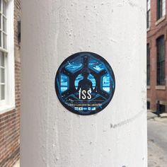 "The largest space station ever placed in orbit and visible to the naked eye from the ground. Stickers are 3"" circular and vinyl. Ideal for both indoor and outdo"