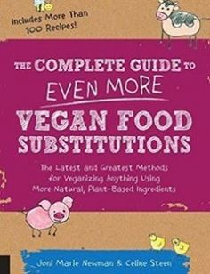 The Complete Guide to Even More Vegan Food Substitutions: The Latest and Greatest Methods for Veganizing Anything Using More Natural Plant-Based Ingredients  Includes More Than 100 Recipes! free download by Celine Steen Joni Marie Newman ISBN: 9781592336814 with BooksBob. Fast and free eBooks download.  The post The Complete Guide to Even More Vegan Food Substitutions: The Latest and Greatest Methods for Veganizing Anything Using More Natural Plant-Based Ingredients  Includes More Than 100…