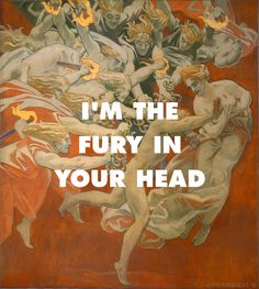 """"""" Orestes Pursued by the Furies, Singer Sargent (1921) 