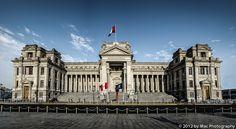 Panorámica del Palacio de Justicia Inca, San Martin, Amazing Buildings, Classical Architecture, Homeland, Peru, Places To Go, Louvre, California