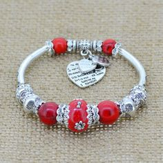 Silver Plated Love Heart Charm Bracelets - Big Star Trading Store
