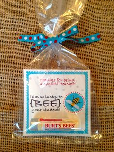 Teacher Appreciation Gift Tag  Lucky to BEE your by PottersBarn, $2.25