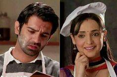 Arnav making Jalebi & Khushi making him breakfast for bed IPKKND